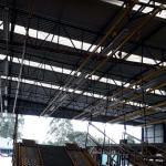 Instalação de linha de vida em escada marinheiro title=