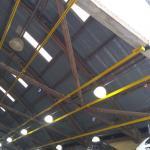 Instalação de linha de vida em telhados title=