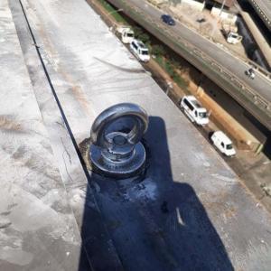 Instalação de ancoragem