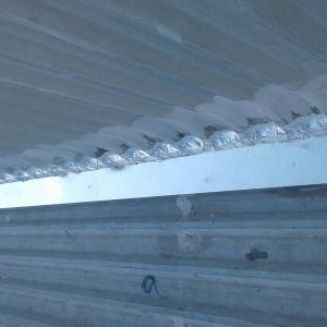 Reforma de telhados de galpão